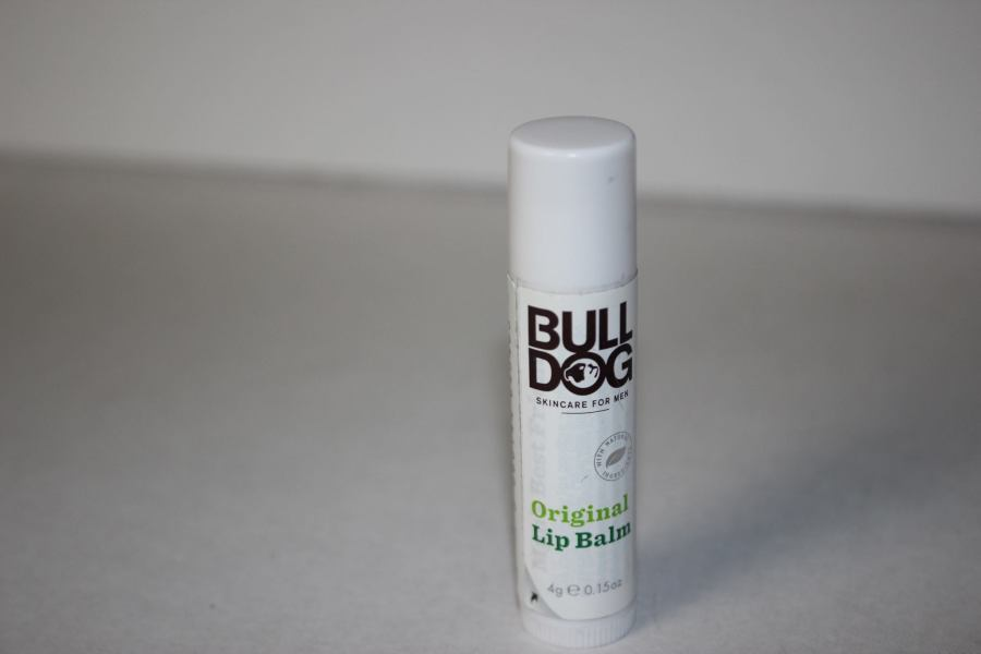 A picture of a small lip balm twist up tube.