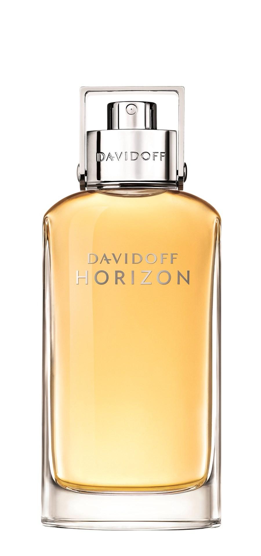 a tall glass fragrance bottle.