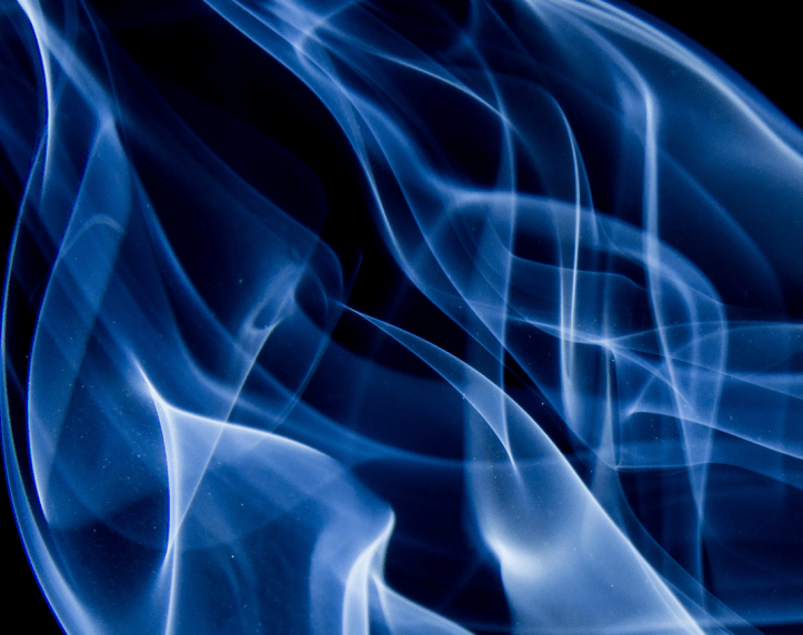 Blue Flame on the cover of Luke's Journal Hot Topics #2.