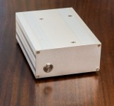 DIY light therapy ceramic metal halide ballast enclosure - front