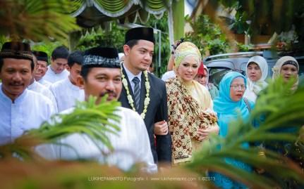 Foto akad nikah