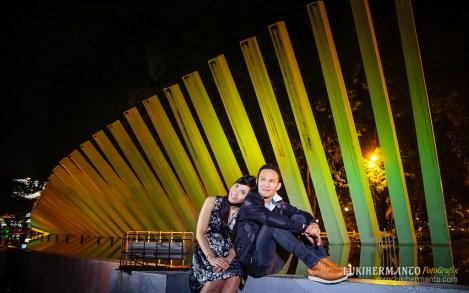 Foto Prewedding Taman pelangi