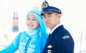 Foto prewedding tentara