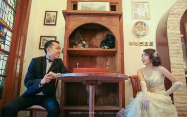 Foto prewedding romantis