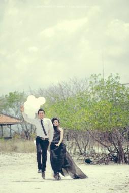 prewedding balon bali