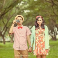 CINDY + PHILBY Prewedding Vintage