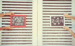 save the date prewedding