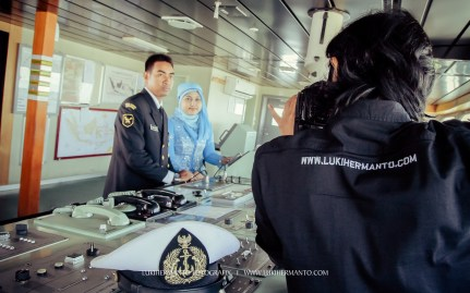 behind the scene prewedding LUKIHERMANTO