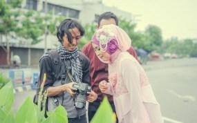 Fotografer prewedding muslim