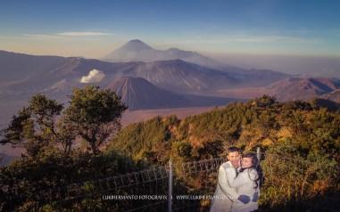 prewed romantis gunung bromo