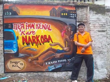 Gambar lukisan mural, grafiti atau lukisan dinding 029