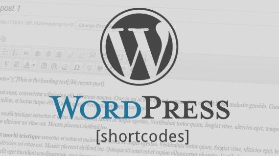 Menyisipkan shortcodes pada template WordPress