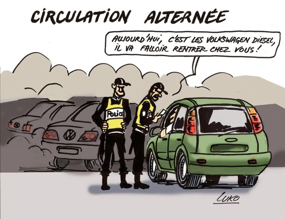 CIRCULATION--ALTERNÉE