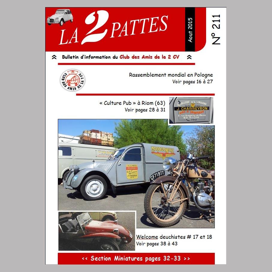 LA 2 PATTES n°211