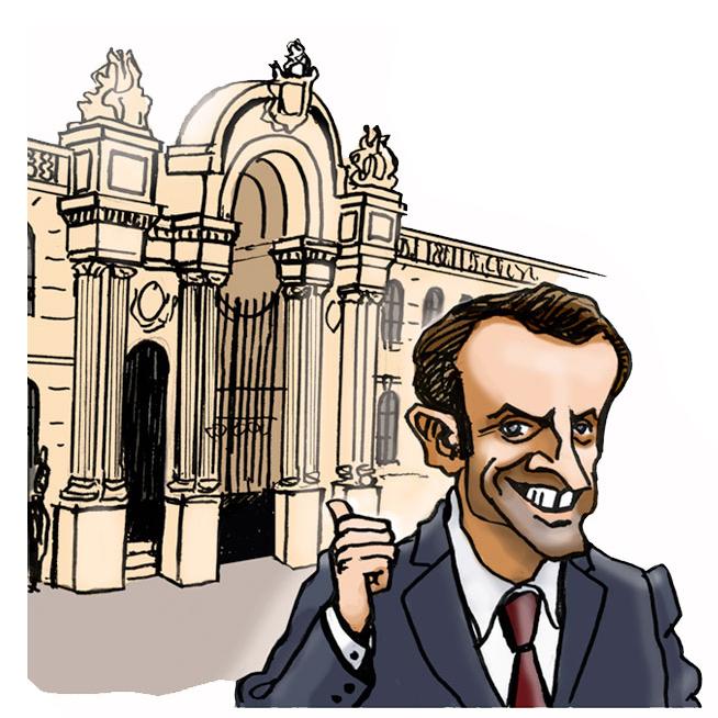 Macron en marche…