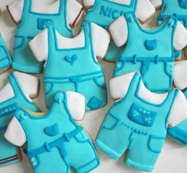lukrowane ciasteczka na chrzest święty