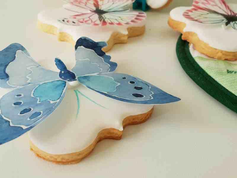 Lukrowane ciasteczka ślubne, słodki stół, personalizowane pierniczki, podziękowania dla gości - Basia sweets