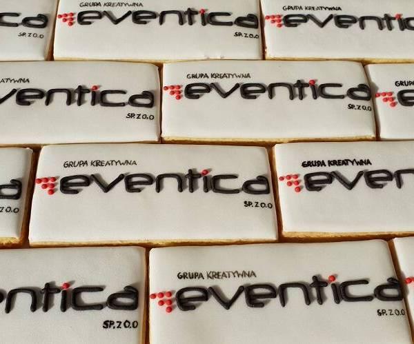 ciastka reklamowe, Lukrowane pierniczki z logo firmy, ciasteczka ciastka dla firm, Eventica - Basia sweets