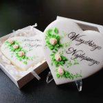 Lukrowane ciasteczka, ręcznie dekorowane, ciasteczka urodzinowe, życzenia urodzinowe - Basia sweets