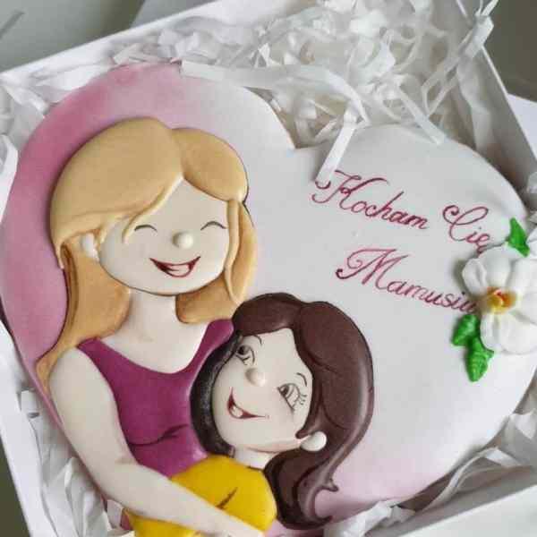 Dzień Matki, pierniczki dla mamy, personalizowane ciasteczka, lukrowane ciasteczka - Basia sweets