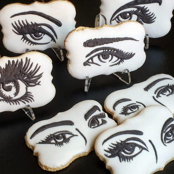 ciastka reklamowe, słodycze reklamowe, materiały promocyjne, lukrowane ciasteczka z logo - Basia sweets