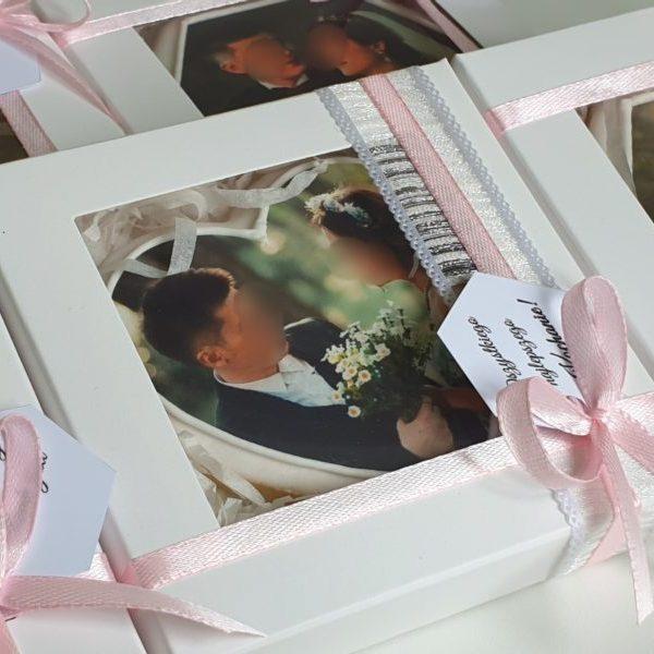 Ciasteczka ślubne ze zdjęciem, podziękowania ślubne, podziękowania ślubne dla gości, ciasteczka z nadrukiem, ciastka ze zdjęciem, lukrowane ciasteczka na wesele Basia sweets