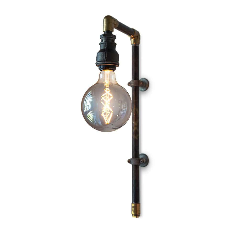Vegglampe: WallPipe Vegglampe Black - WallPipe