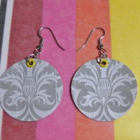 Paper Earrings Tutorial