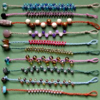 Braided Bead Bracelets