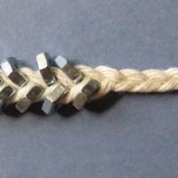 Braided Hex Nut Bracelets