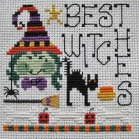 Best Witches Cross Stitch Pattern