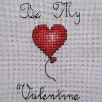 Be My Valentine Cross Stitch Card Tutorial