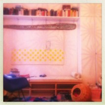 Living room before IKEA Live photo shoot