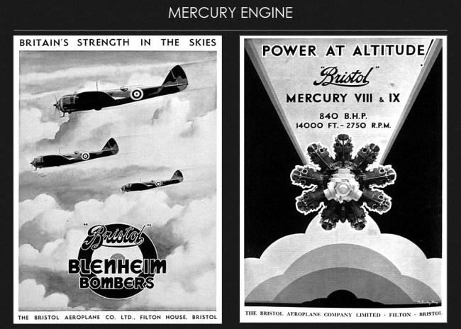 bristol-mercury-engine