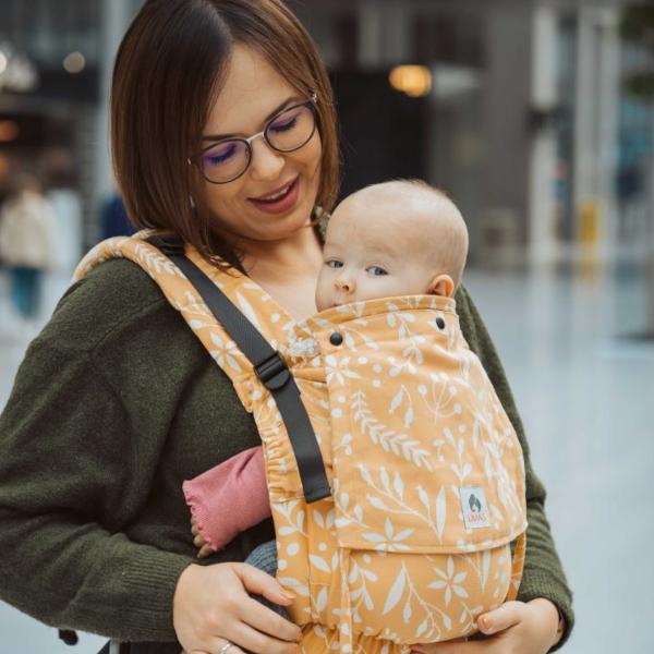 limas porte-bébé évolutif ergonomique physiologique