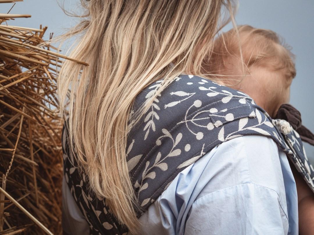 Limas porte-bébé confortable évolutif hybride mei tai physiologique coton bio