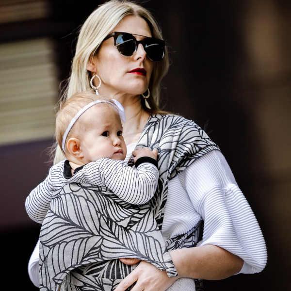 fidella porte-bébé physiologique confortable