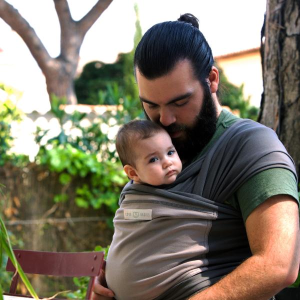 love radius écharpe de portage porte-bébé extensible dès la naissance