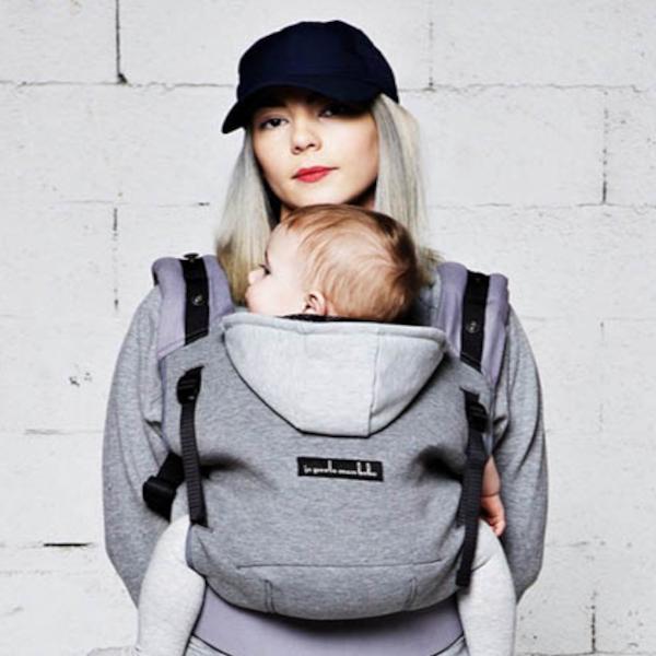 love radius porte-bébé hoodie carrier physiologique