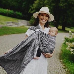 sling little frog carbon harmony écharpe de portage bébé sans nouage porte-bébé facile sans noeud dès la naissance