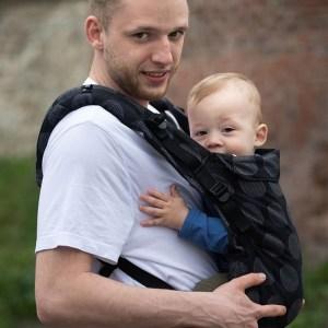 porte-bébé kinder hop pour papa