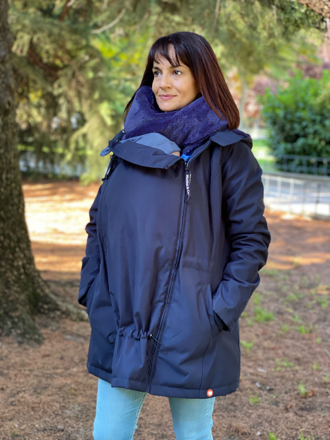 Manteau de portage Wallaby - Wombat & Co - Bleu Marine