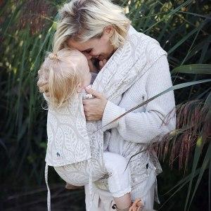 porte-bébé évolutif physiologique Limas valerie lin léger respirant pas chaud été mei-tai hybride confortable