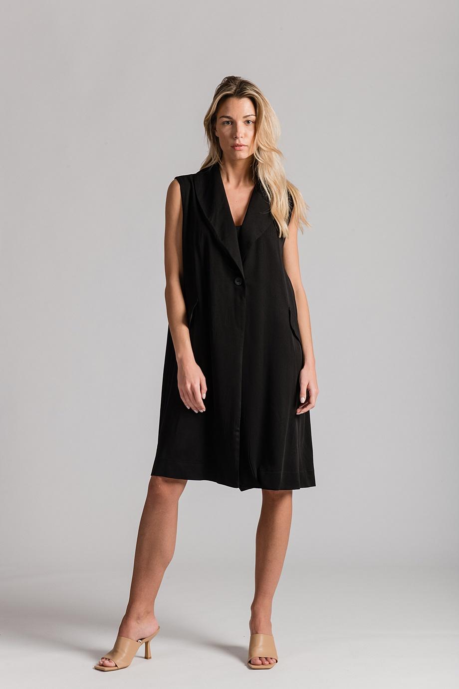 Haljina Blaze - 1.290kn - 100% viskoza - one size - crna boja - LuLu Couture (1)