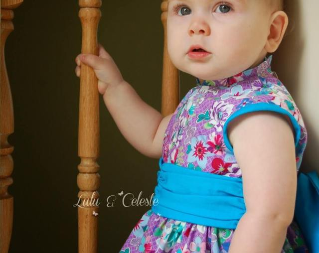 Lulu & Celeste: Cherry Blossom dress pattern by Mandy K Designs