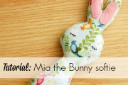 mia the bunny softie tutorial by Lulu & Celeste