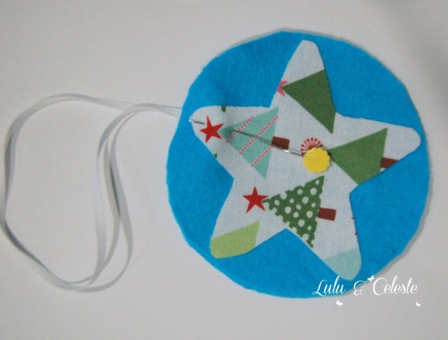 Step 3 -Star ornament tutorial Lulu & Celeste
