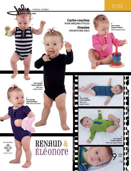 Pattern #3133. So cute! Wish I had found this before Miss V had grown out of the sizes :(