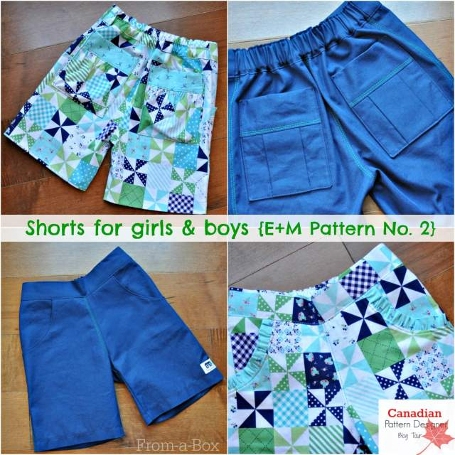www.From-a-Box.com Shorts for girls and boys feature 1
