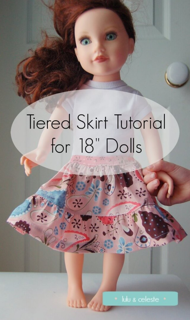 Tiered Skirt tutorial